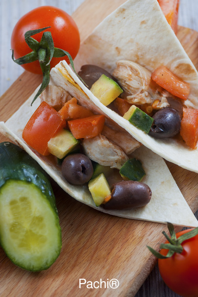 Chicken Mediterranean Wrap