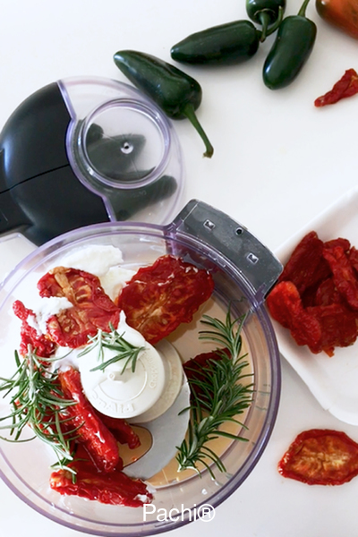 Roasted Tomato and Rosemary Spread
